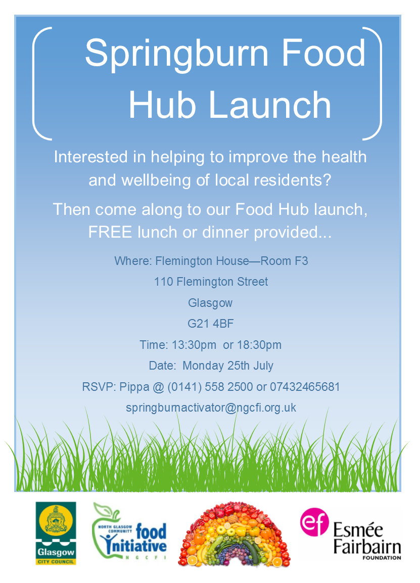 Food Hub Launch (Springburn, Glasgow)