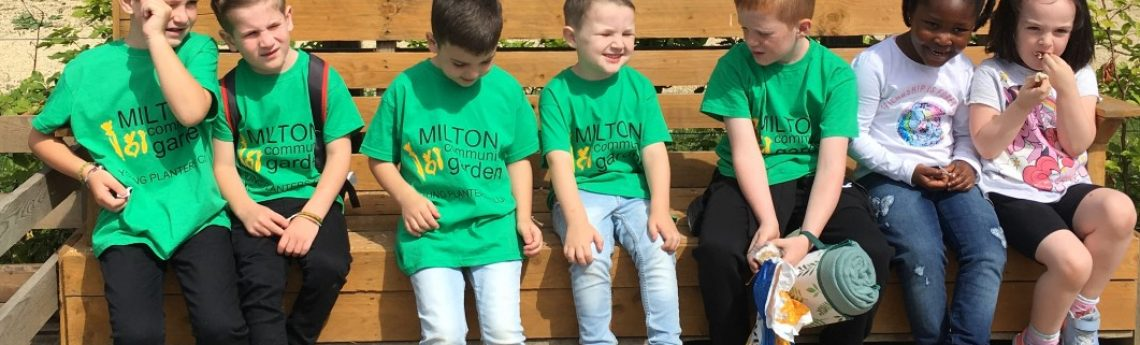 Children in Green T Shirts